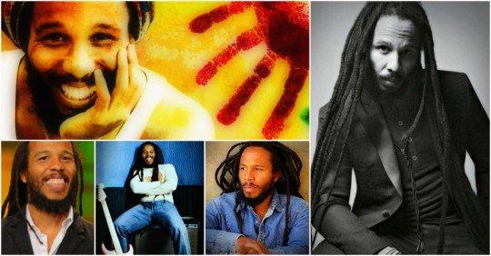 Happy Birthday to Ziggy Marley (born 17 October 1968)