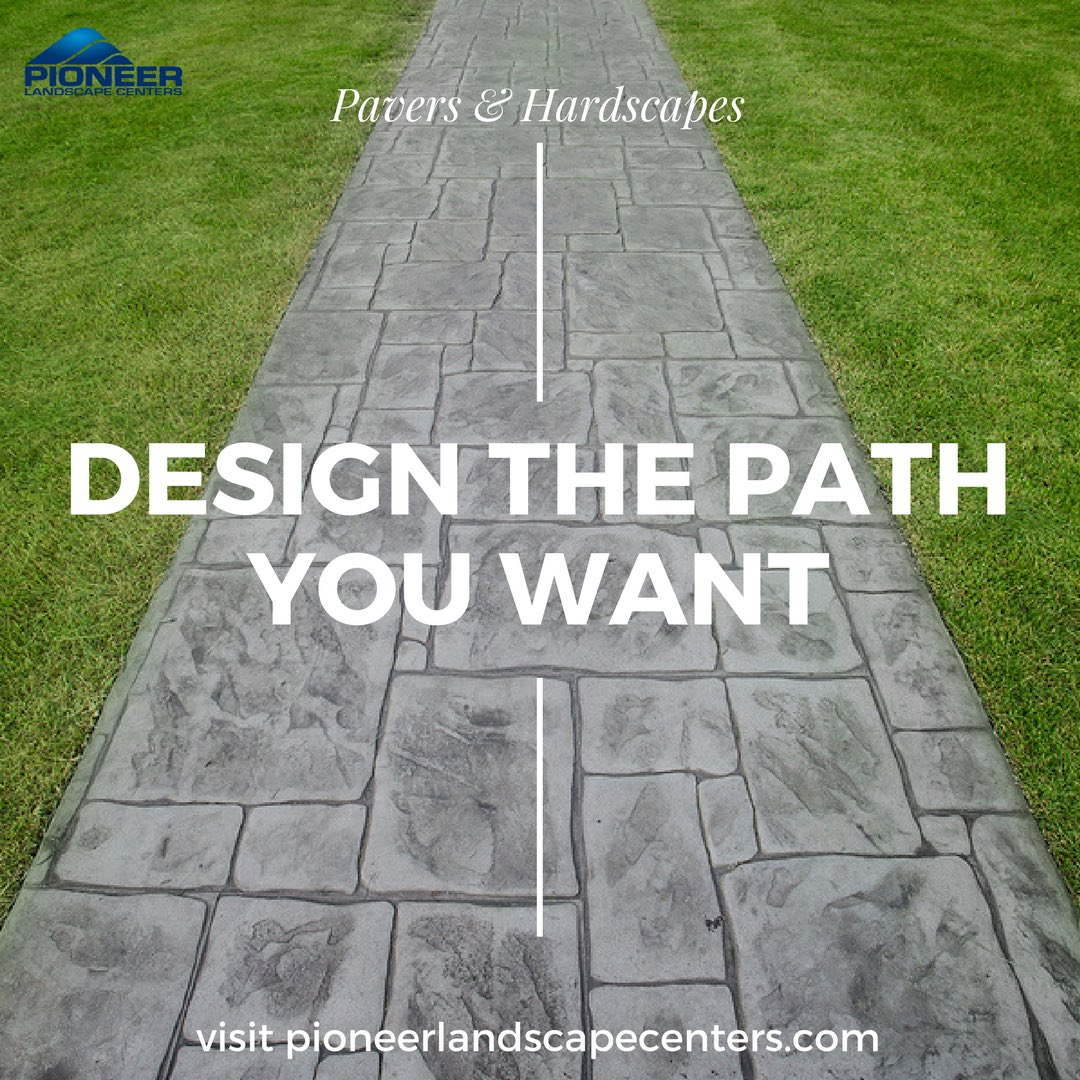 Design the #pathway you want for your #yard! We have a variety of #pavers &amp; #hardscapes to make it happen -  http:// bit.ly/2ut6Rt9  &nbsp;  <br>http://pic.twitter.com/mv410iTOMS