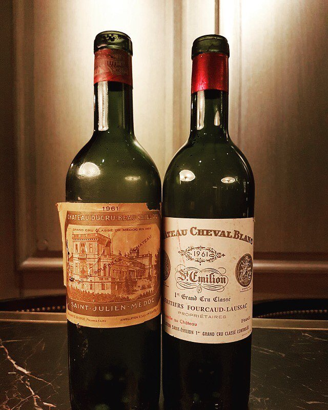 #vintage1961...a legendary vintage, the perfect growing season &amp; #harvest. Members treating themselves this Tuesday #wineclub #finewine<br>http://pic.twitter.com/UUM54kzFga