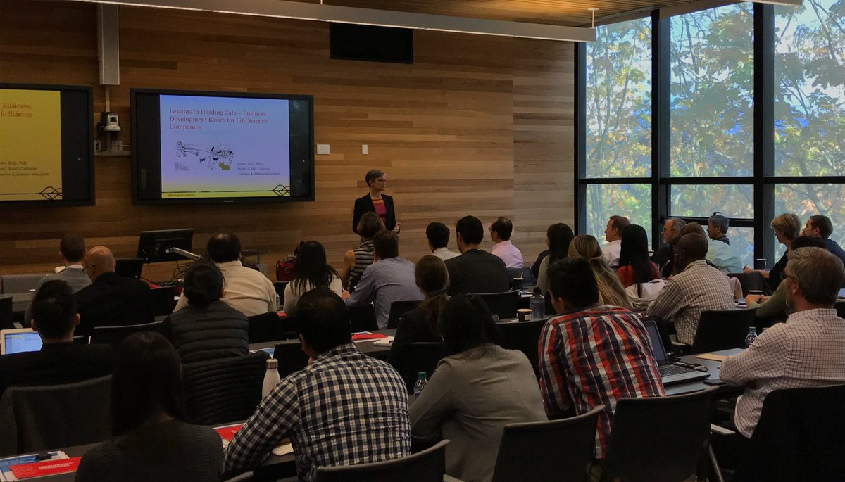 The sun came out just in time for @lesleystolz presentation on #bizdev basics at @C_D_R_D #JLABS @UBC<br>http://pic.twitter.com/kQ5TO0hl6v