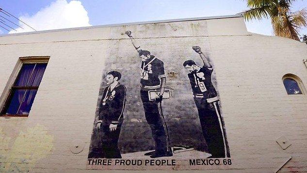 @khayadlanga 'Three Proud People' mural...