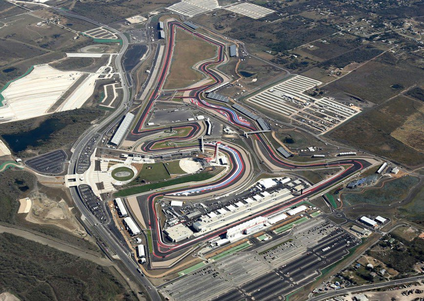 #USGP  is coming! Schedule of the weekend:  FP1 &amp; FP2: Fri 3pm &amp; 7pm (UTC)  FP3 &amp; Qualifying: Sat 4pm &amp; 9pm  Race: Sun 7pm   #F1 #R8G <br>http://pic.twitter.com/DQY0bU5cgc