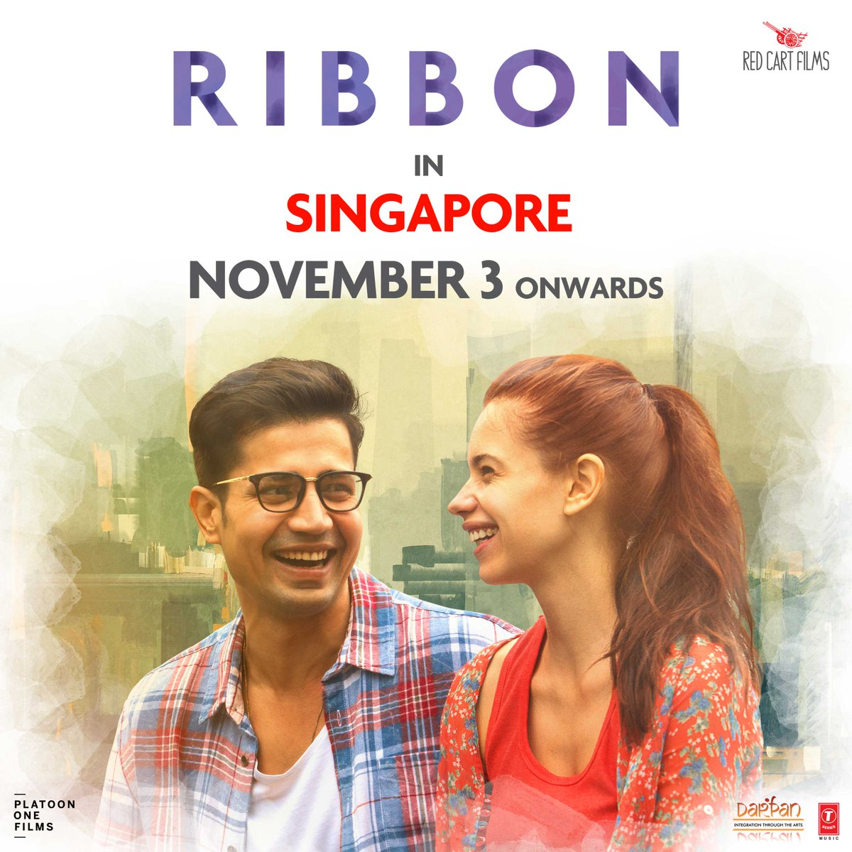Super happy to announce that #Ribbon will have a simultaneous release in #Singapore on Nov 3 Thanks to @DarpanGlobal &amp; @sreyashisen13<br>http://pic.twitter.com/gjhFnhbQkU