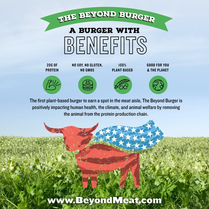 Proud to invest in plant-based @BeyondMeat as livestock production is a major driver of carbon emissions. Learn more https://t.co/sLnsC97Af8 https://t.co/6Zf5CJvnJZ