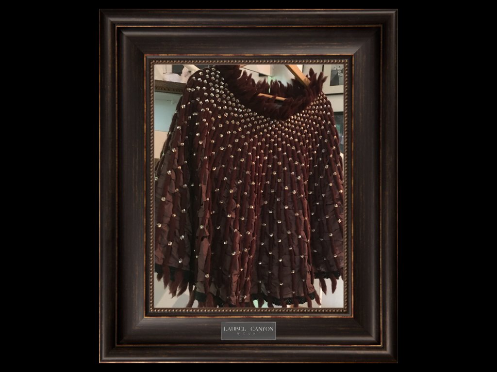 #MOCCA #poncho in #chocolate #silk JUST IN! #sparkling #sequins #merino #wool #vintage #cafesociety #boho #couture #BooksOnCaffeine<br>http://pic.twitter.com/I76W9mDimT