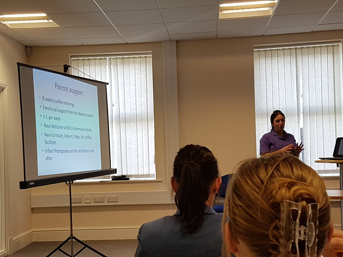 Fabulous work @WomensCentred with #NICU providing emotional support to parents on the ward. Amazing feedback bridging gaps <br>http://pic.twitter.com/hQEWkhMdcC
