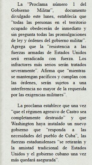 EUA planejaram a ocupação militar de Cuba em 1962 https://t.co/e5IDEfT3K7