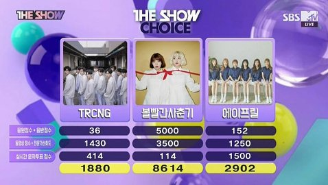 #Bolbbalgan4 got their first win for &#39;Some&#39; on The Show  <br>http://pic.twitter.com/j77J9rTy53