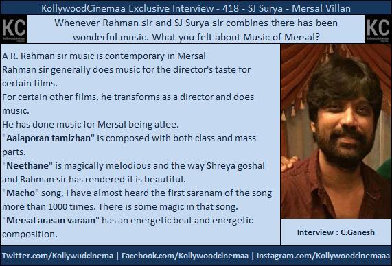 #Mersal  #SjSurya  #AalaporaanThamizhan  Class + Mass #NEETHANAE  Magical Melody #Macho i hearted more than 1000 Times #MersalArasan  Energetic<br>http://pic.twitter.com/9oFWimlhUu