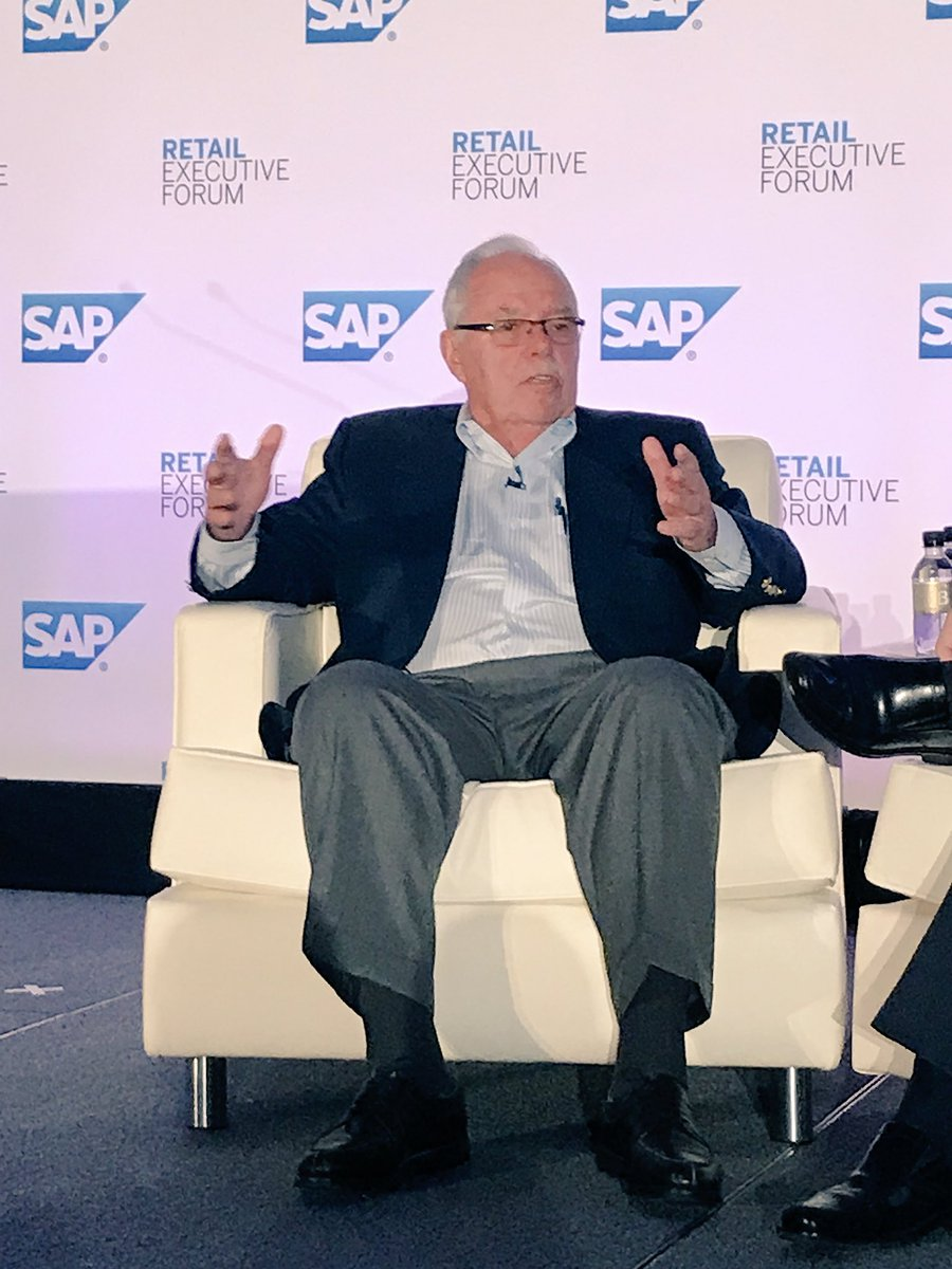 So much to learn from a great teacher and business visionary like @costco&#39;s co-founder Jim Sinegal #SAPREF #retail @sap_retail<br>http://pic.twitter.com/DaAejUCjCN