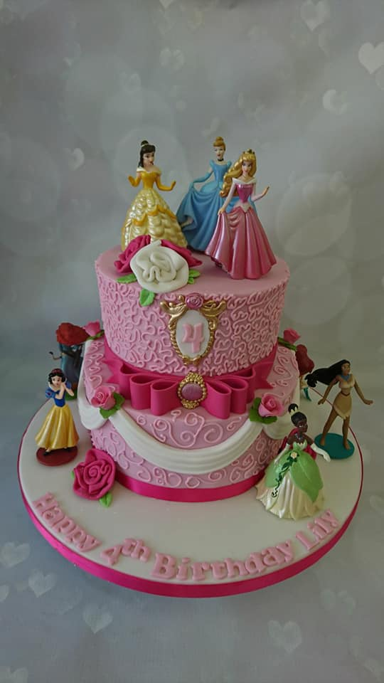 Awe Inspiring A Cake For You On Twitter Happy 4Th Birthday Lily Princess Personalised Birthday Cards Paralily Jamesorg