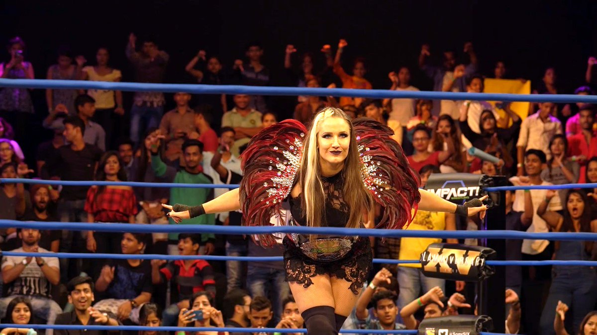 #GFW #Knockouts Champion @Sienna joins us at 7pm UK time at  http:// sportuccino.com  &nbsp;  . Send your questions for the @impactwrestling star!<br>http://pic.twitter.com/STlPkuu6nF