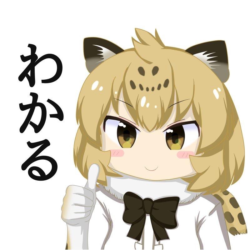わかりジャガー #けものフレンズ