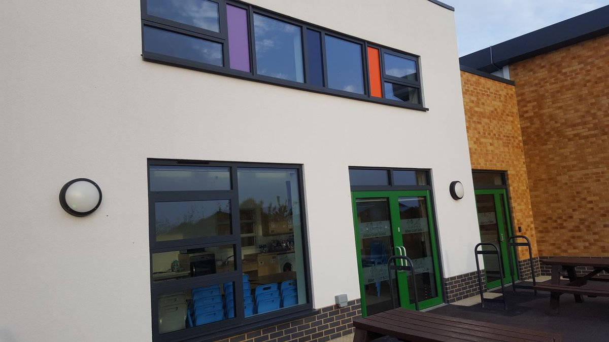 Sealtite on Twitter  Todayu0027s Visit to Abbey Court School - Using @SapaBldgSystem dual frame 75 elegance 52 curtain wall and @tormax_uk_ltd   door in a ... & Sealtite on Twitter: