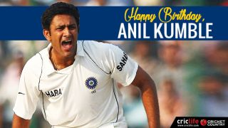 Happy birthday, Anil Kumble: Virender Sehwag, others wish former India spinner and coach