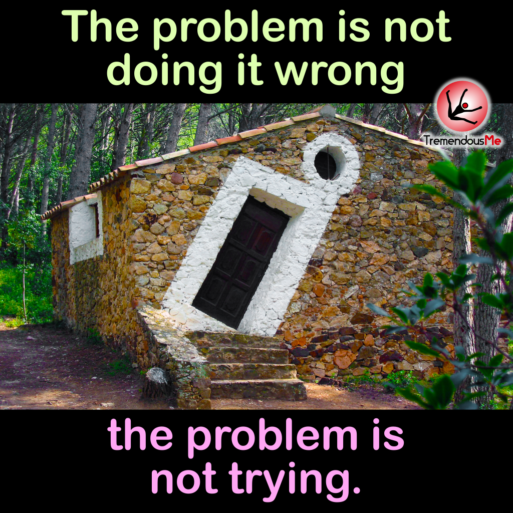 The problem is not doing it wrong, the problem is not trying. #problem #wrong #trying #quote #webapp #iphoneapp #androidapp #mobileapp<br>http://pic.twitter.com/zU5o6XgPE8