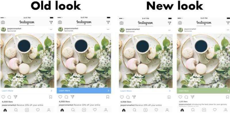 Instagram is changing the look of their ad CTAs to better merge with user feeds  http:// ow.ly/4DQz30fVijj  &nbsp;   #socialmediamarketing <br>http://pic.twitter.com/h4xYxd4BX9