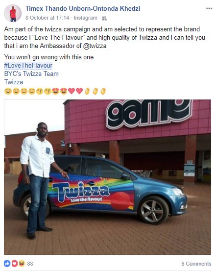 Just  being involved with @TwizzaBeat, where @theSALT_ZA selected brand fans as a channel to amplify #influence via trusted conversations. <br>http://pic.twitter.com/2C0dg7KzRY