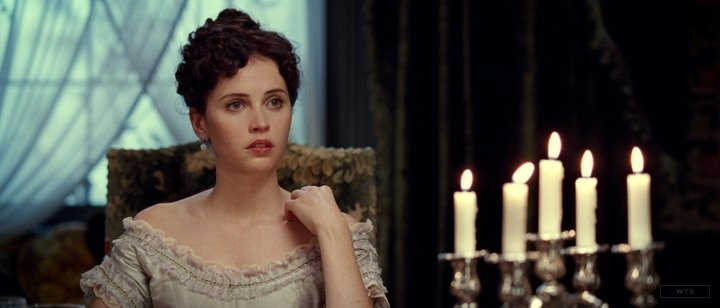 New happy birthday shot What movie is it? 5 min to answer! (5 points) [Felicity Jones, 34]