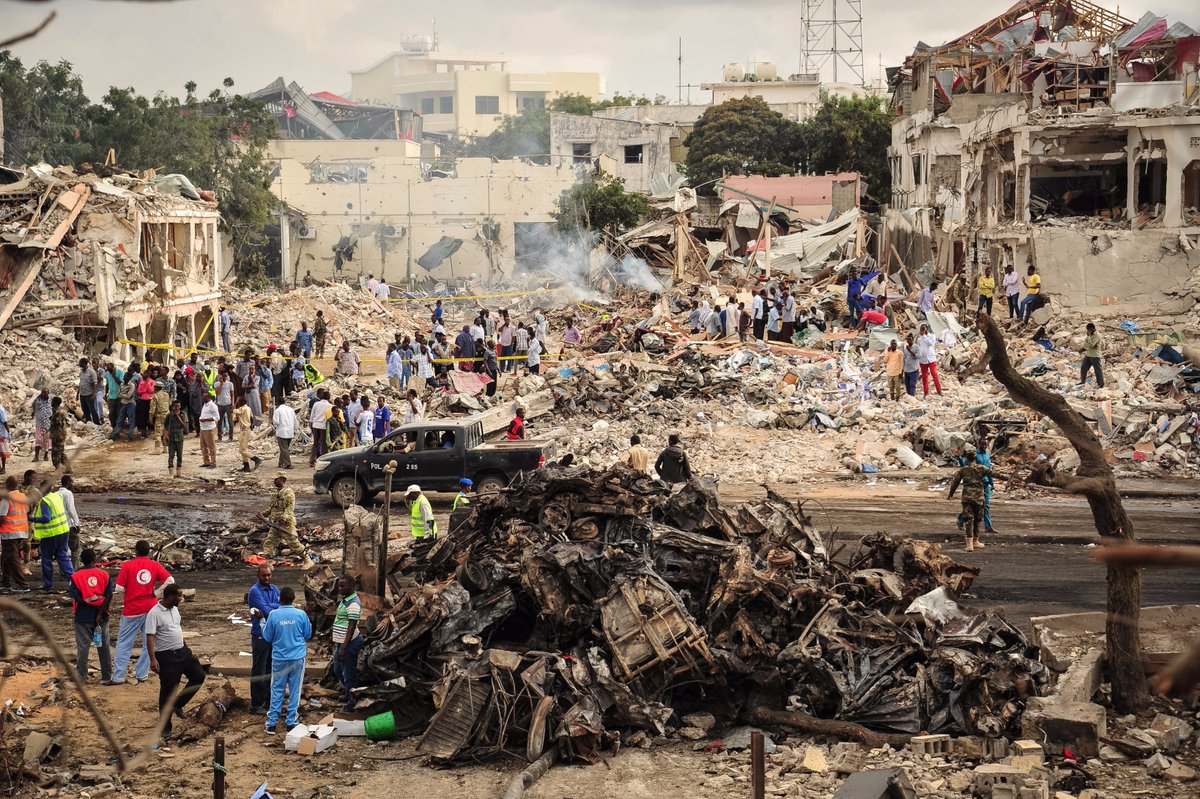 Our thoughts are w  everyone affected by the bombing in  Mogadishu   Somalia. We re providing medical supplies to help those who were  injuredpic.twitter.com  ... ba8c7272ee9c