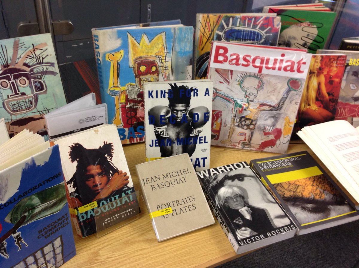 Celebrate #Basquiat at #Aldgate Library and check out the #BoomForReal exhibition at @BarbicanCentre<br>http://pic.twitter.com/10s1ncQzT2