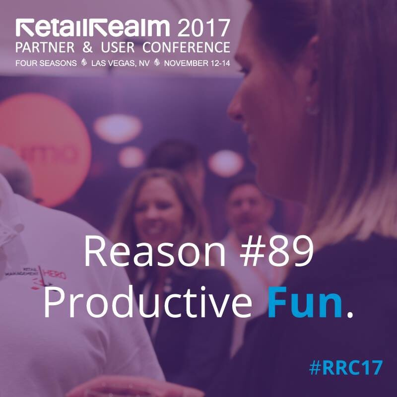 It's not your traditional #retail tech event — we infused fun social networking + expo events to bring partners &amp; retailers together #RRC17<br>http://pic.twitter.com/awLpWa3iZo