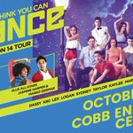 Celebrate the 14th season of @DANCEonFOX by seeing the top 10 finalists LIVE at @cobbenergypac on 10/26! https://t.co/bA5xOHfU0l #SYTYCD