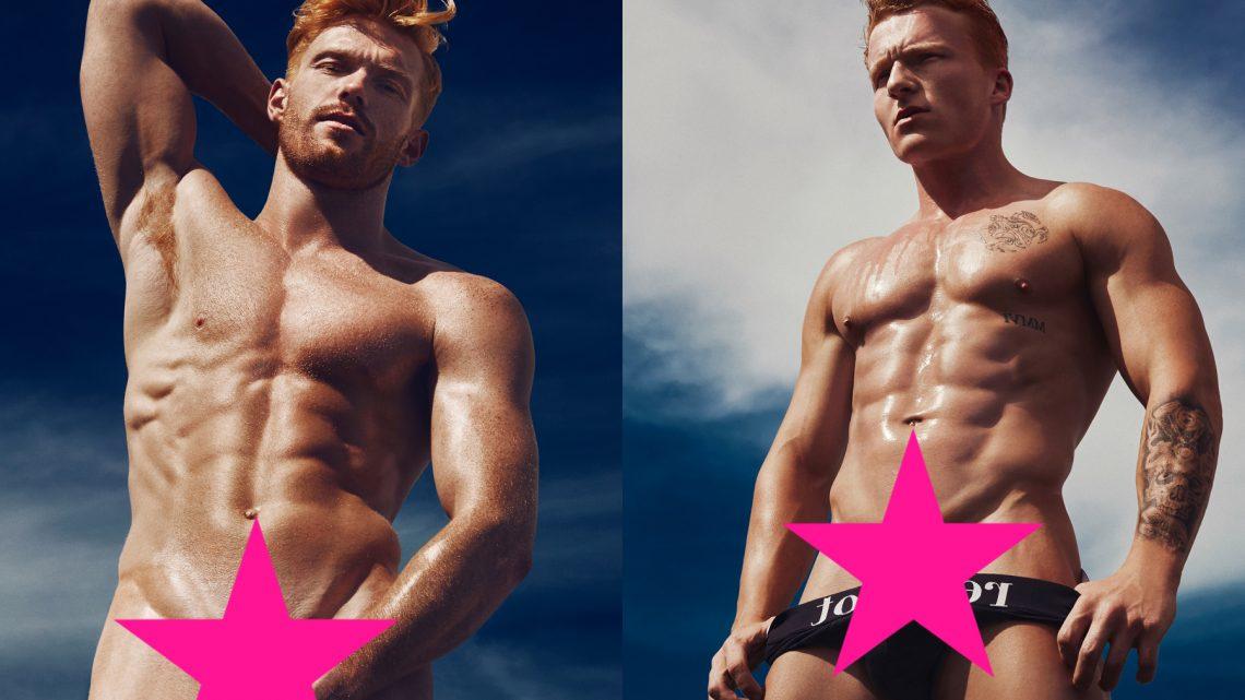 Meet all 12 naked ginger hunks of the Red Hot 2018 calendar (NSFW):  h...