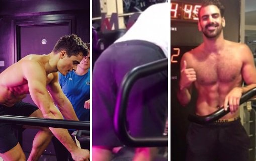 Nyle DiMarco and Pietro Boselli work up a sweat together 💦:   https://...