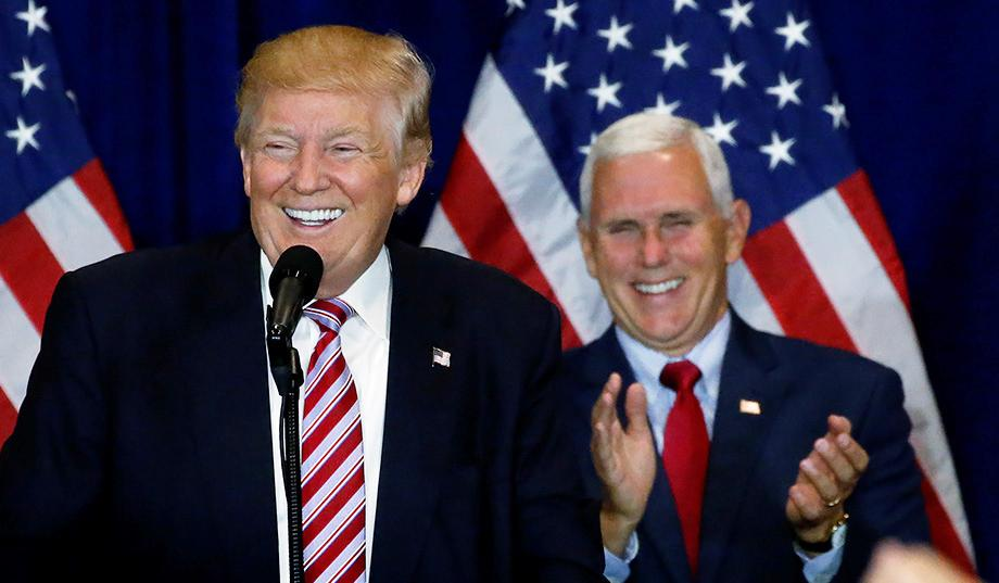 White House denies reports that Trump 'joked about Mike Pence wanting...