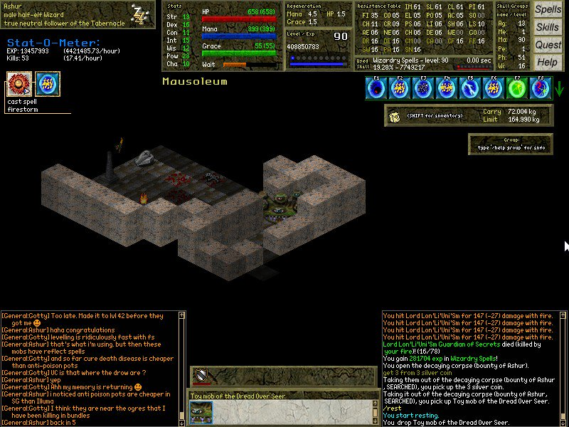 Think i&#39;ve turned into a dread overseer  #mmorpg #rpg #opensource #gaming #free #game #indiedev #gamedev #halloween #samhain<br>http://pic.twitter.com/Bp3ubAYvDF