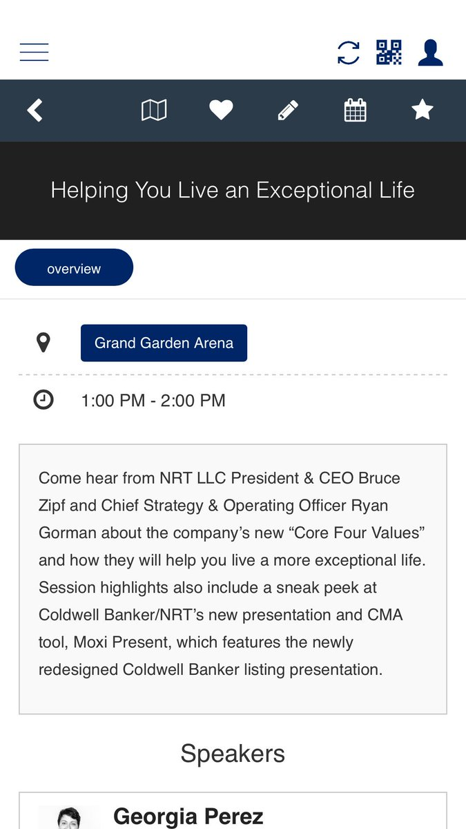 A @ColdwellBanker @NRTLLC #GenBlue MUST SEE: 'Helping You Live an Exceptional Life' 10/18 at 1 pm w/ @brucezipf https://t.co/CfsV6XvYGr