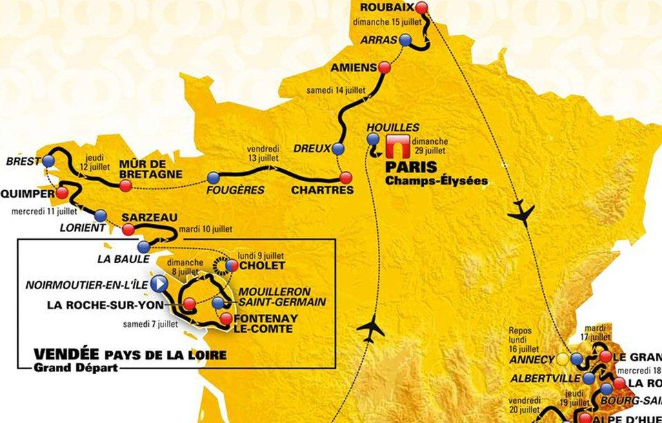 Region Bretagne On Twitter Felicitations Aux Villes Etapes Du