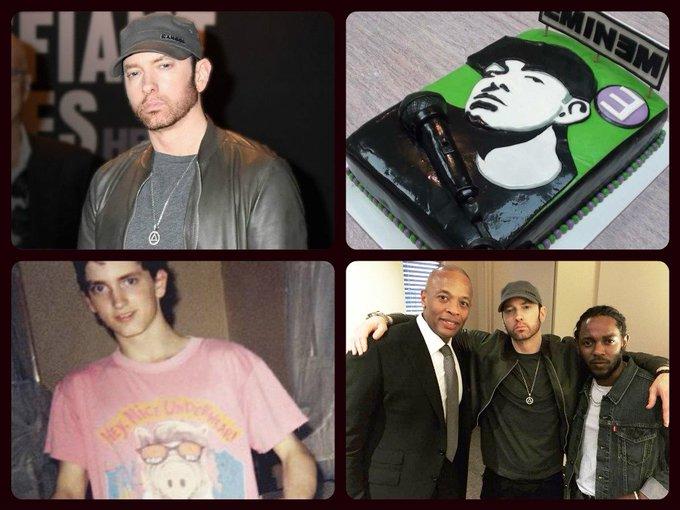 Happy 45th Birthday, Eminem