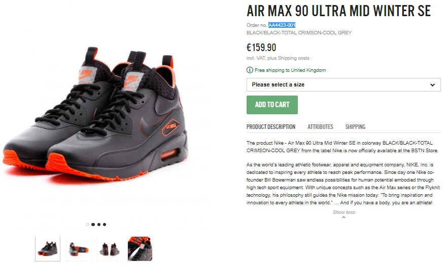 49b0564e2b Nike Air Max 90 Ultra Mid Winter SE Black Total Crimson LIVE early at BSTN  Link > http://bit.ly/2kTtzqG pic.twitter.com/yYtIs9wAEn. 8:38 AM - 17 Oct  2017