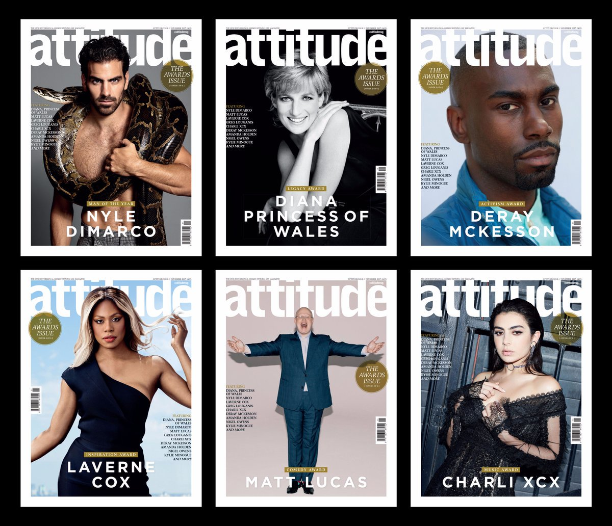 Can't find the #AttitudeAwards cover you want in the shops? Order dire...