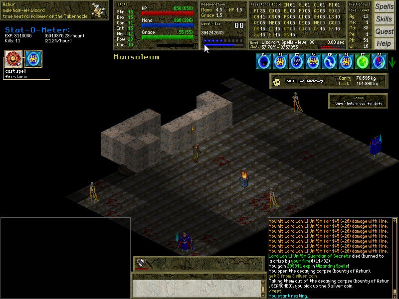 This could be painful. Skelly mages + vamps = pain/death. #algebra #mmorpg #mmo #opensource #gaming #free #game #gamedev #indiedev<br>http://pic.twitter.com/IDc1WzN6oi