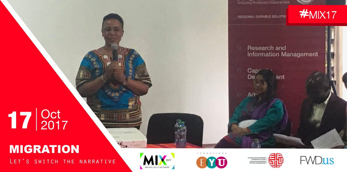#MIX17 : In Africa also, #migrants need support and initiatives to become entrepreneurs. <br>http://pic.twitter.com/sHn91tml3n