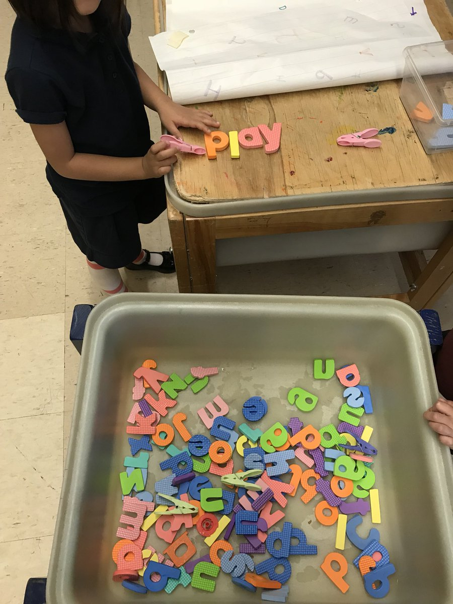 Fine motor and building words #sucess #saintDteam #tcdsbEY #merginglearning<br>http://pic.twitter.com/q7bzXNDgkp