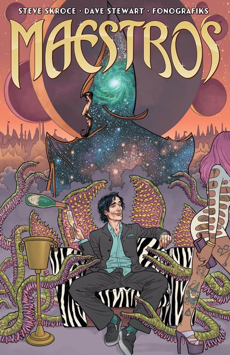 Maestro&#39;s from Steve Skroce comes out Wednesday via @ImageComics check out our interview with Steve Skroce here  http:// bit.ly/2hMhMWs  &nbsp;   #Maestros #SteveSkroce #ImageComics #NCBD #Comics #Podcast #Interviews #NewSeries<br>http://pic.twitter.com/BY9i5zCVnX