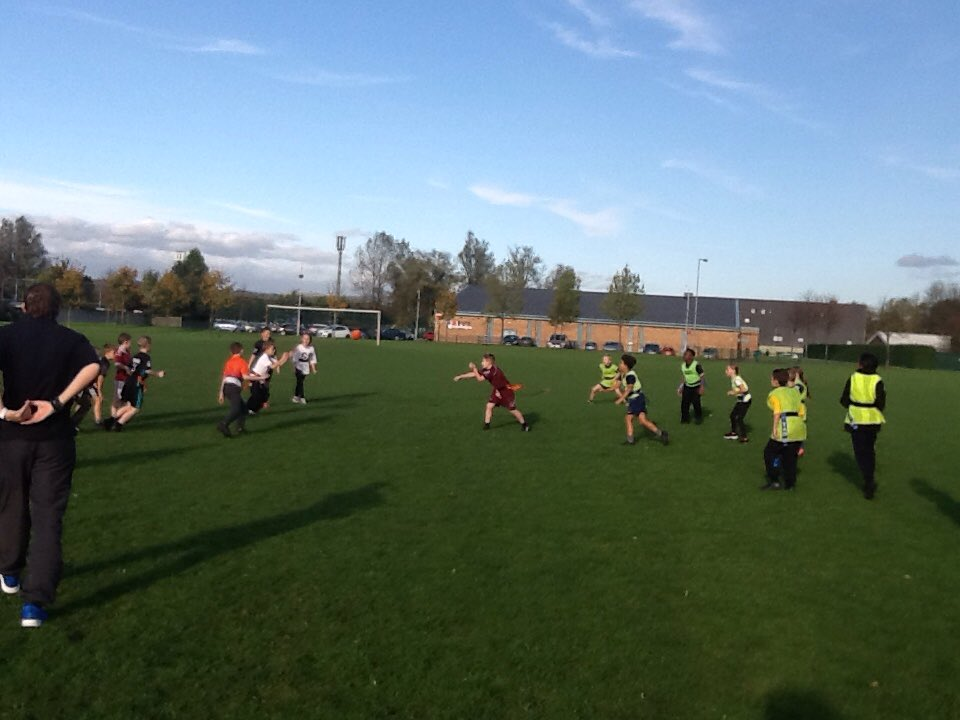 Great tag rugby after school club tonight @MoorsidePA #tactics ready for final @tamesidessp @aldwinians_rufc<br>http://pic.twitter.com/7OE6NMSApv