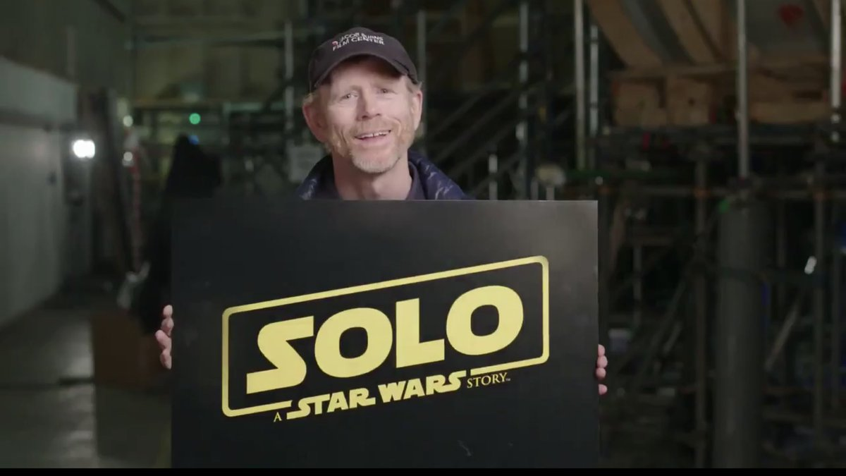 We have a title for the #HanSolo movie! 'Solo: A Star Wars Story' #Solo #starwars <br>http://pic.twitter.com/PbiKZPqBpk