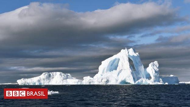 O buraco maior que a Paraíba no gelo da Antártida que intriga cientistas https://t.co/TxCVSE5EOf