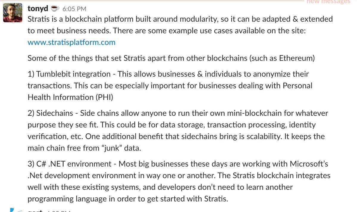 This is Stratis @stratisplatform $STRAT $BTC #stratis #bitcoin #blockchain #tumlebit #breeze #development #fintech #sidechains $CRYPTO<br>http://pic.twitter.com/qEsyBOiqIX