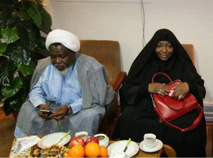 The most appressed couple in the world !!! #Free Zakzaky @hrw @GovKaduna @bukolasaraki @ProfOsinbajo @SPNigeria @dino_melaye<br>http://pic.twitter.com/j3OfgmbW1k