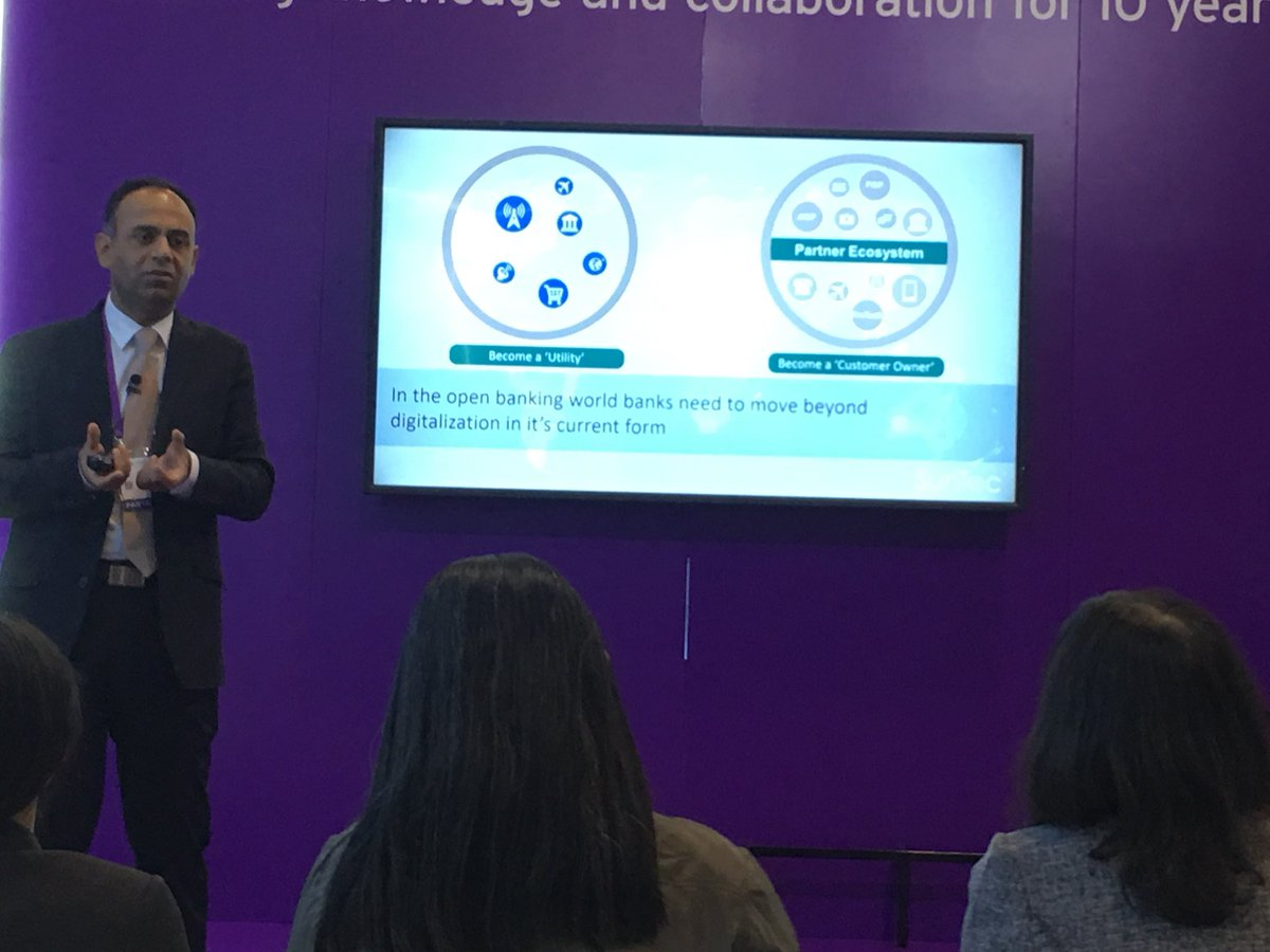 In the openbanking world banks need to move beyond digitalization in its current form @its_amit_dua @SunTecGroup #OpenBanking @Sibos<br>http://pic.twitter.com/IfuRQnKudO