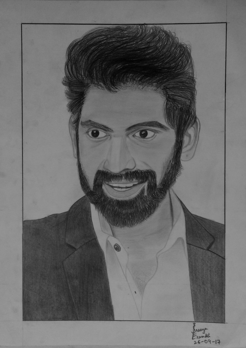 My pencil sketch of and for @RanaDaggubati  Hope you like the sketch Rana!! #Portrait <br>http://pic.twitter.com/vgYhplH9sy