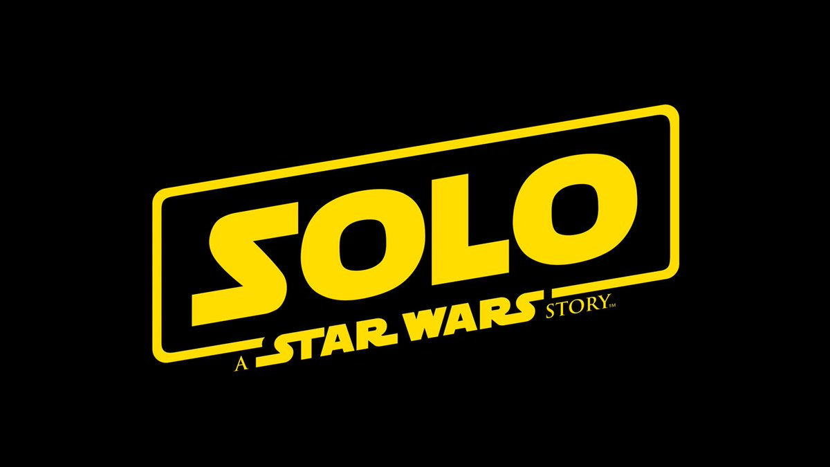 The #HanSolo #StarWars movie has an official title and logo...