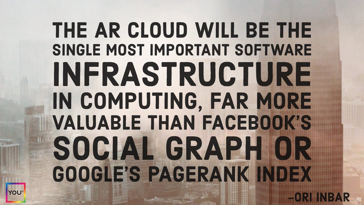 The #ARCloud will be the single most important software infrastructure in computing #tech #AR #vr #ai #AWE2017 #IoT #iOS #apple<br>http://pic.twitter.com/TzAnahiJyx