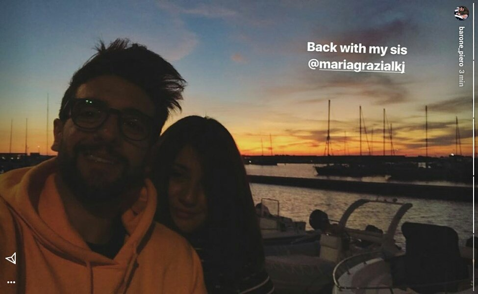 Back with my sis mariagrazialkj. Ph by barone_piero on #instagramstories #ilvolo #sicily<br>http://pic.twitter.com/9WYwVNCdsG